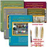 Buon Fresco Foundations: FULL SET - 5 Volumes Set with Brushes